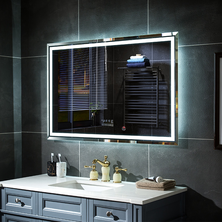 Fogless LED Bath Room Touch Screen Mirror