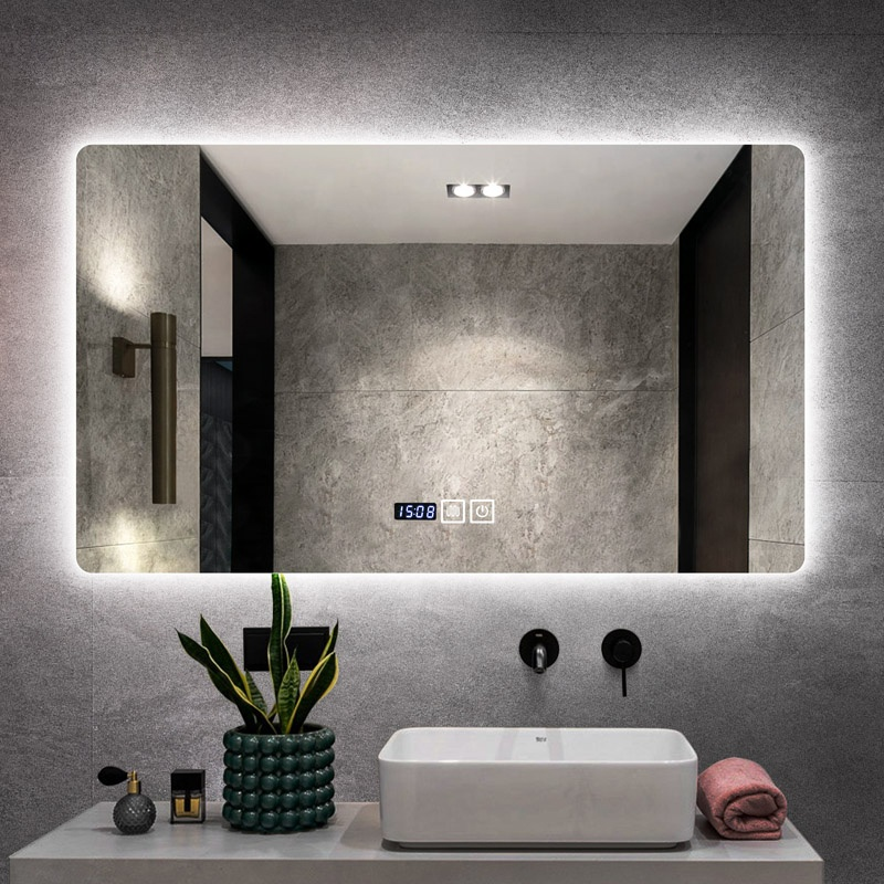 Hotel House Illuminated Smart Led Bath Mirrors
