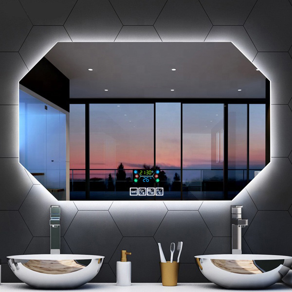Wall Mounted Illuminated Smart Led Makeup Bath Mirrors