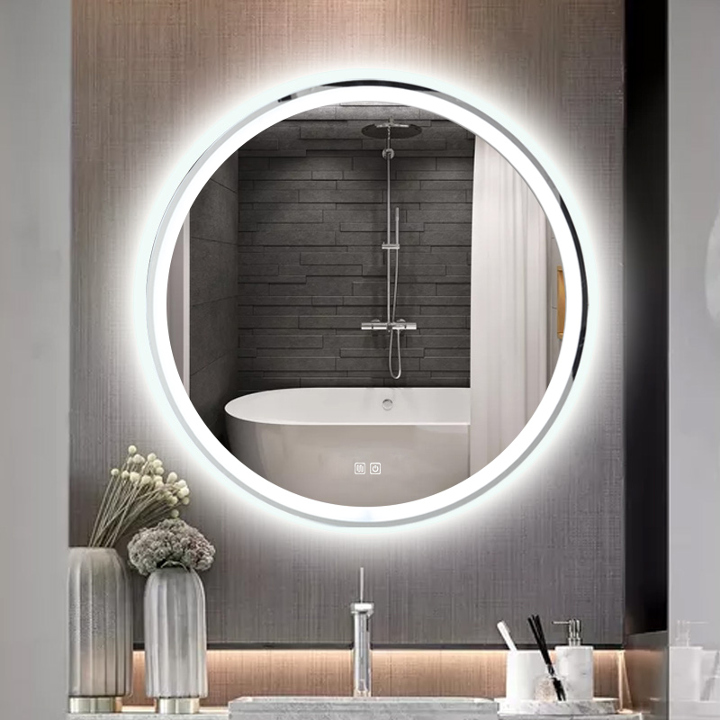 Round Wall Smart Led Bath Mirrors