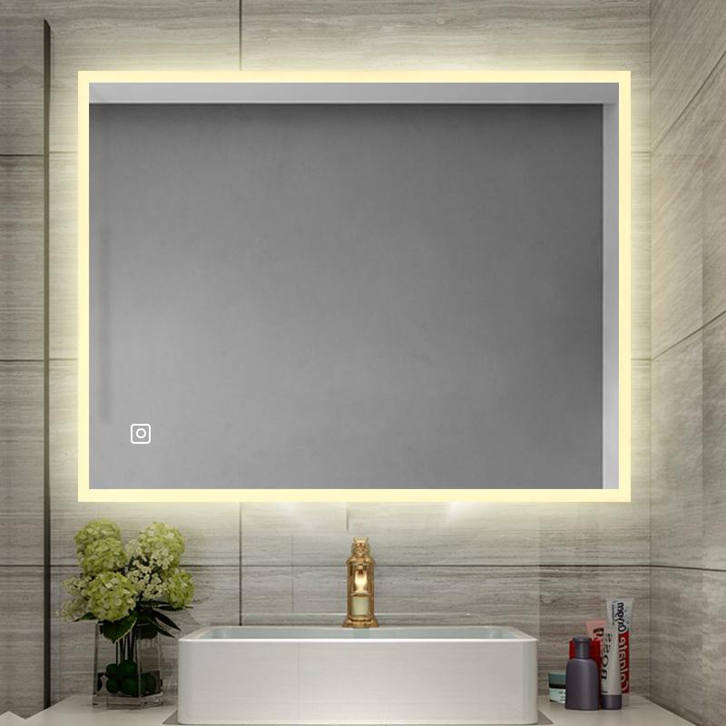 Custom Bathroom LED lighted Smart Mirror