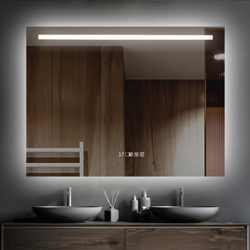 Led Lighted Bathroom Touch Screen Smart Mirror
